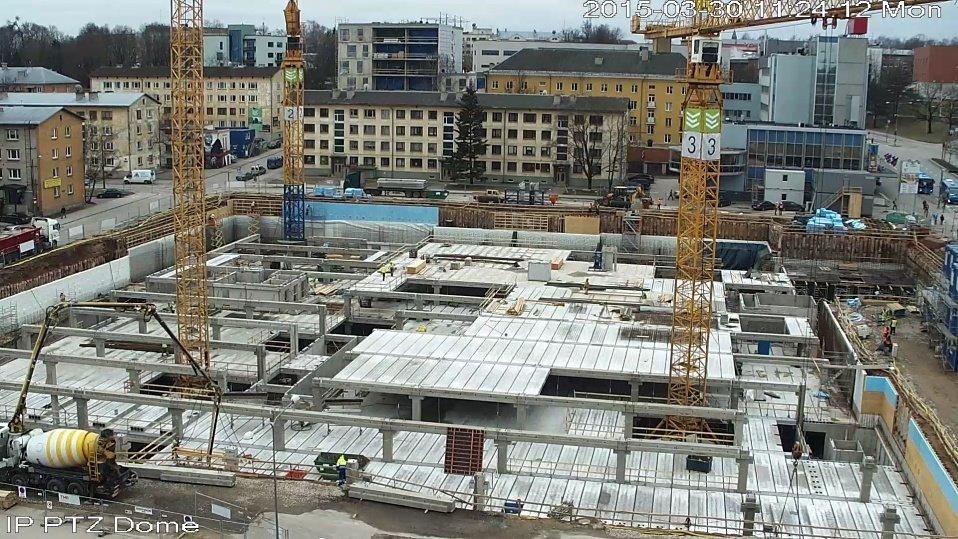 710fa978dfc Uue keskuse ehitus liigub jõudsalt esimese maapealse korruse suunas ...